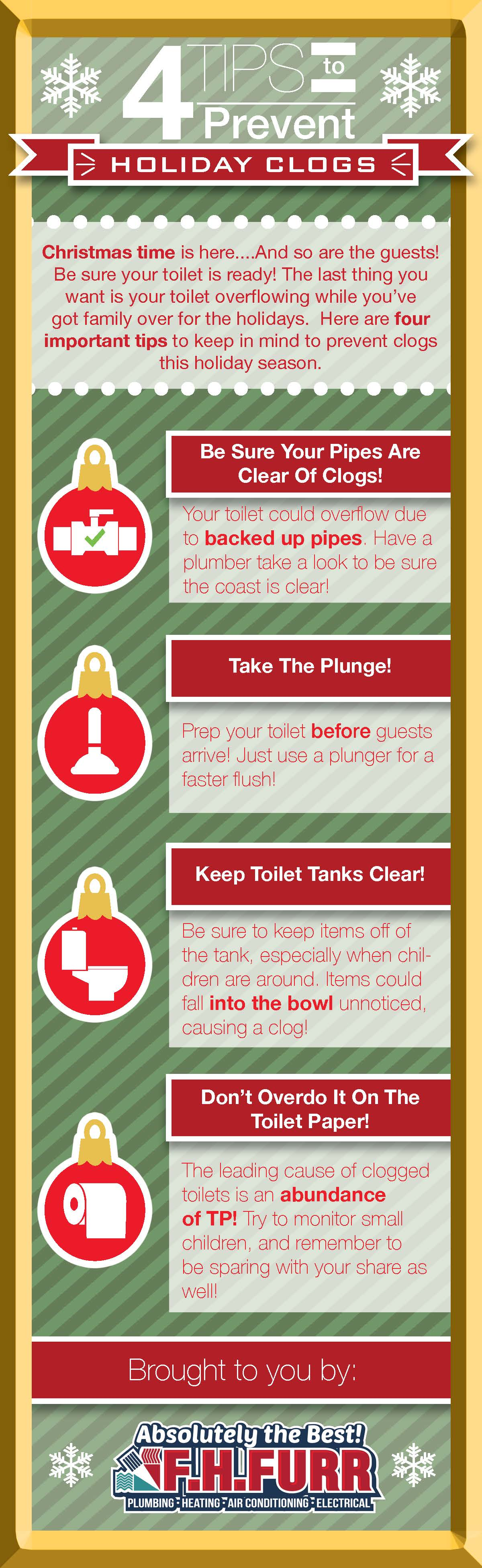 Toilet Clog Infographic