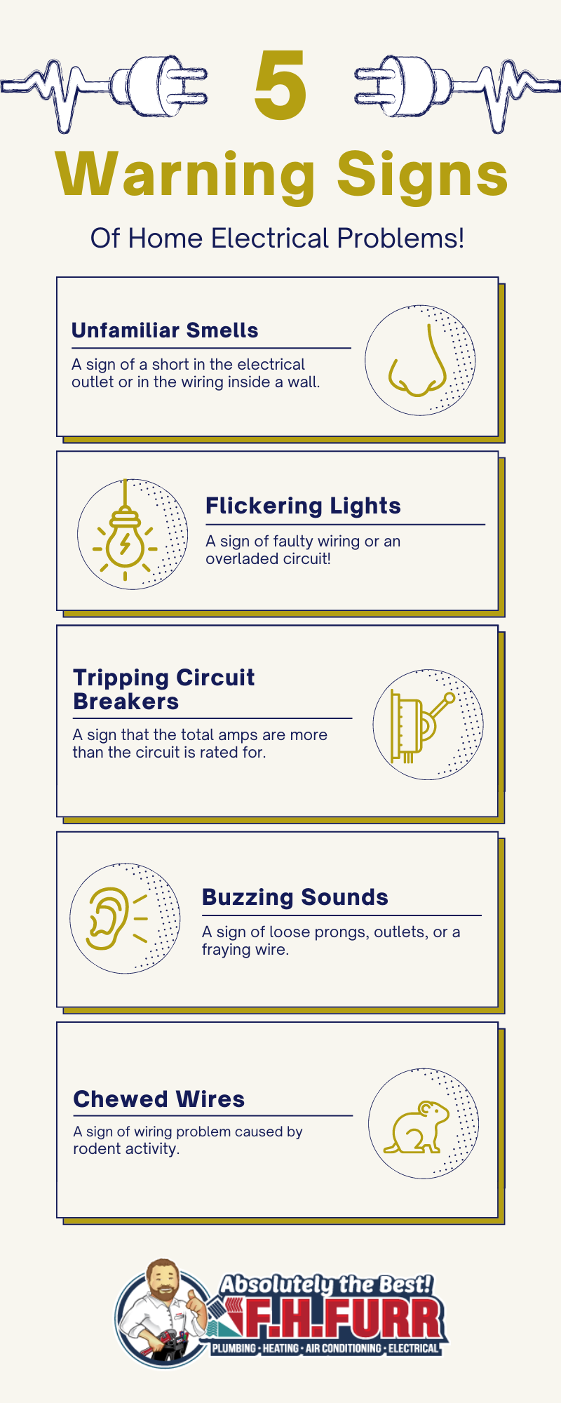 5 warning signs of electrical problems -1