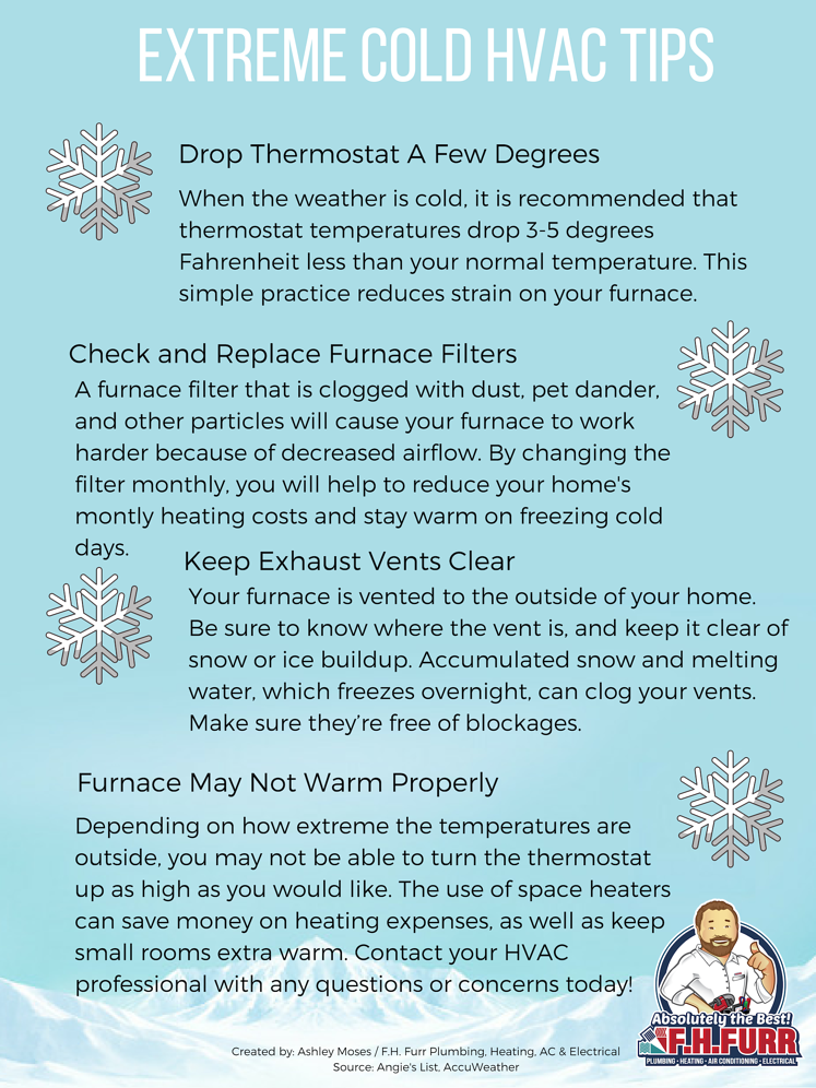 Extreme Cold HVAC Tips Blog