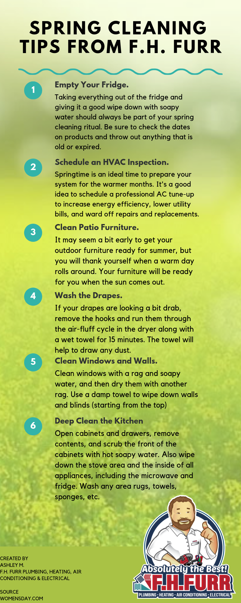 Spring Cleaning Tips F.H. Furr