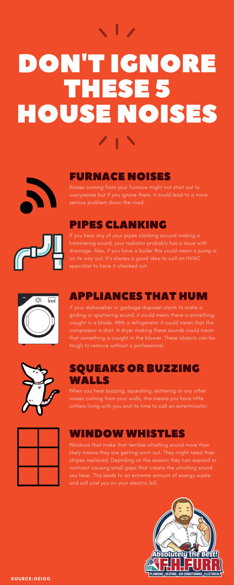 dont ignore these 5 house noises